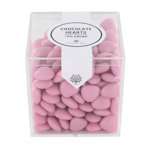 Bilde av Chocolate Hearts Pink 190gr